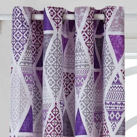 Rideau TRINITY rideaux-a-motifs