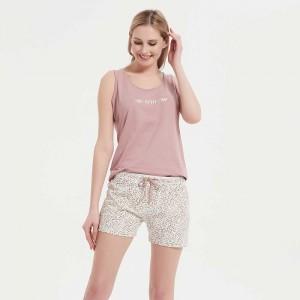 Pijama corto algodón Dora