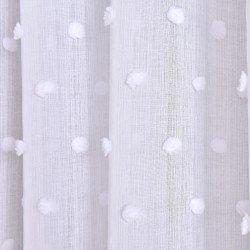 Cortina POMPOM BLANCO cortinas-translucidas