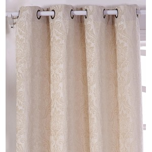 Cortina JACQUARD CHENILLA NATURAL