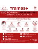 Cubrecolchón acolchado microfibra impermeable