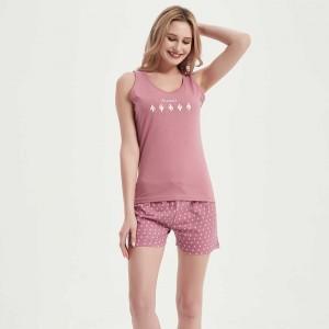 Pijama corto algodón Alicia...