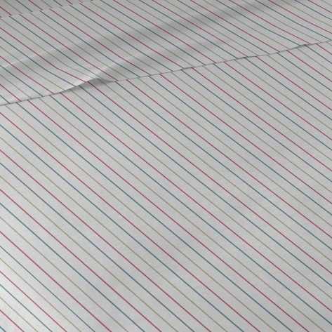 Juego de sábanas algodón percal Raya Heidi 90 cama-90