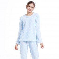 Pijama coral ESTRELLITAS CELESTE pyjamas-coral