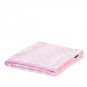 Couverture velours ESTRELLITAS ROSE