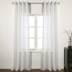 Cortina SAN JOSE NATURAL cortinas-translucidas