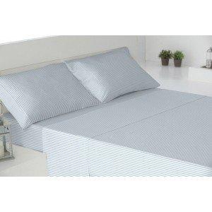 Parure de lit de flannelle 160 KODAK BLEU