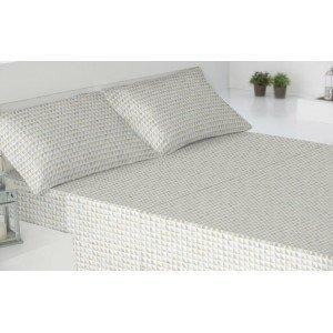 Parure de lit de flannelle 160 BRUMA