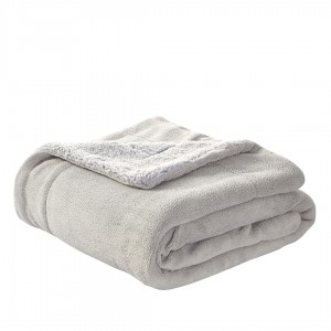 Cobertor SHERPA PERLE GRISSE