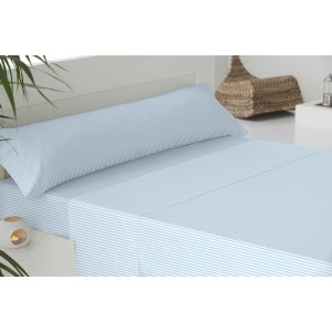 Parure de lit de flannelle 90 KODAK BLEU