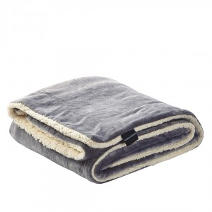 Cobertor VELVET CINZA MARENGO