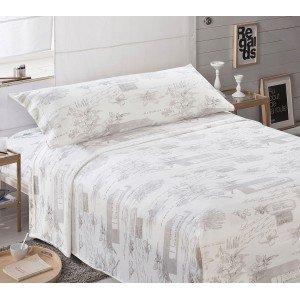 Parure de lit de velours 90 LETTER