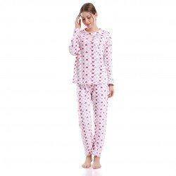 Pijama coral MARTINA 02 pijama-invierno