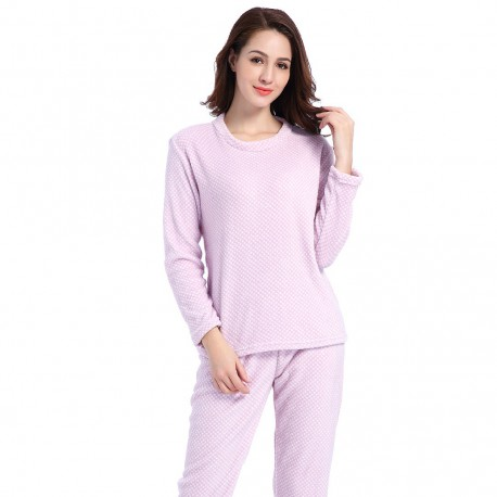 Pijama coral CHELSEA MALVA pyjamas-coral