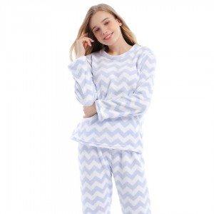 Pijama coral ZIGZAG INDIGO