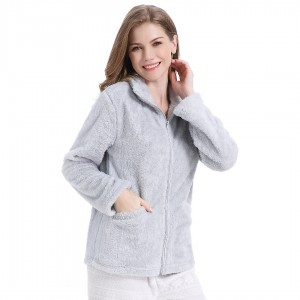 Sweat-shirt coral GRIS PERLE