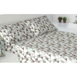 Parure de lit flanelle 180 EDGE