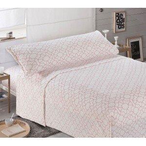 Jogo de lençois de VELUDO 105 MAYA MALVA