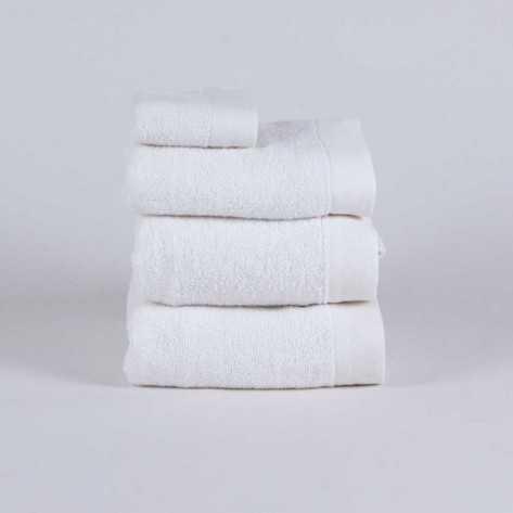 Toalla de Baño 400gr Doble Rizo blanco toallas-400450