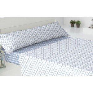 Jogos de lençois algodão 135 MICHIGAN INDIGO