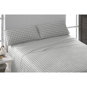 Parure de lit de flannelle 160 JOHNSON