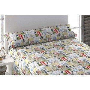 Parure de lit de flannelle 90 TRAVEL