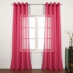 Cortina MOLLY FUCSIA cortinas-translucidas