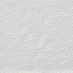 Cortina Jacquard Chenilla Sol blanco opacas