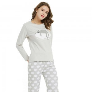 Set Camisa+Pantalón largo DREAM CAT PERLA