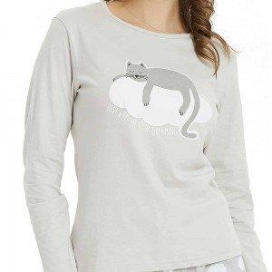 Set Camisa+Pantalón largo DREAM CAT PERLA