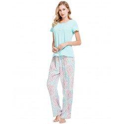 Pijama Manga Corta Viscosa Tahití pijamas