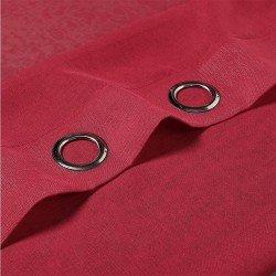Cortina MOLLY ROJO cortinas-translucidas