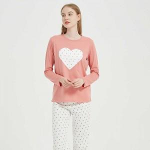 Pijama largo algodón Topo...