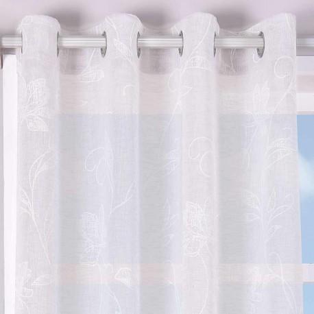 Cortina CLAVEL PERLA rideaux-semitranslucides