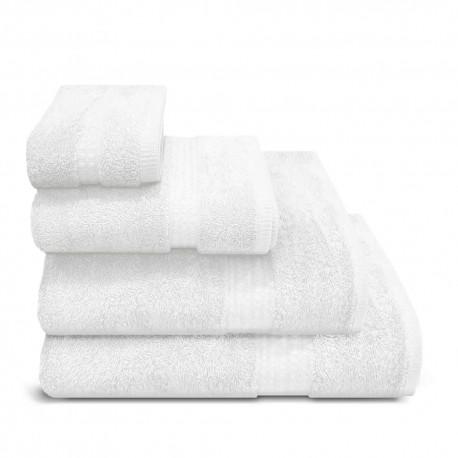 serviette de bain 700g lorena blanc. Black Bedroom Furniture Sets. Home Design Ideas