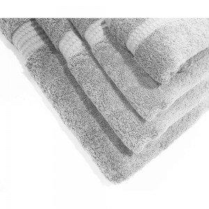Serviette de bain 700g LORENA GRIS PERLE