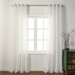 Cortina KENITRA Natural cortinas-translucidas