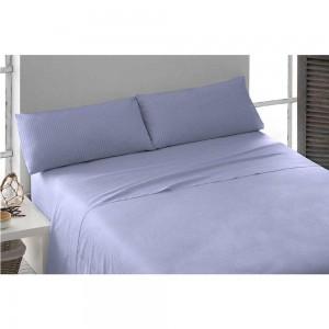 Parure de lit au coton SATIN 140 ÍNDIGO