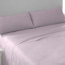 Juego de sábanas algodón SATÉN 150 MALVA