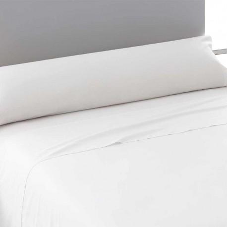 Juego de sábanas algodón blanco 135 cama-135