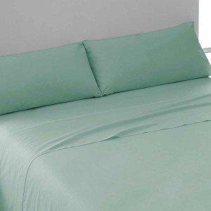 Juego de sábanas algodón 150 VERDE TIFFANY