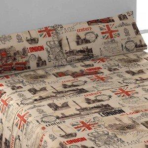 Juego de sábanas de algodón 135 VINTAGE