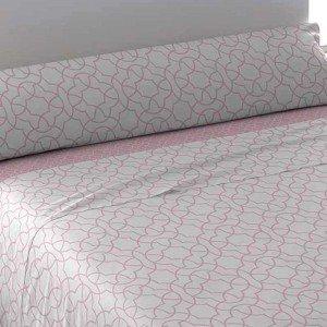 Jogos de lençois algodão 105 MAYA CINZA PEROLA