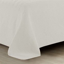 Colcha JACQUARD 240x270 BORDADO NATURAL