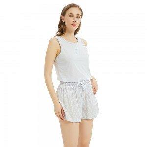 Pijama corto Bavaro Gris