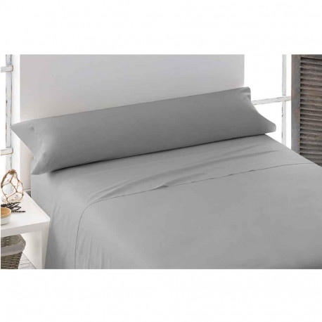 Juego de sábanas 100% Algodón PERCAL 135 Gris perla cama-135
