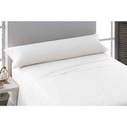Juego de sábanas algodón percal blanco 135 cama-135