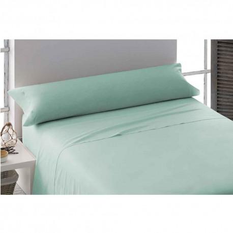 Juego de sábanas 100% Algodón PERCAL 135 VERDE TIFFANY cama-135