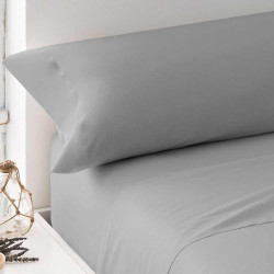 Juego de sábanas 100% Algodón PERCAL 150 Gris Perla cama-150