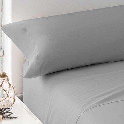 Juego de sábanas 100% Algodón PERCAL 180 Gris Perla cama-180